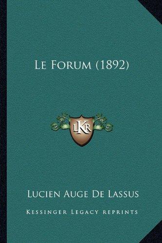 Le Forum (1892)