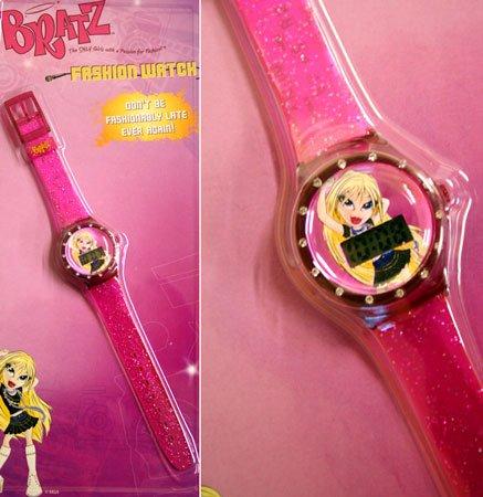 Bratz, Childrens Pink Diamante LCD Wrist Watch - Great Gift Idea