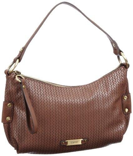 ESPRIT Esprit Tasche I15000 - Bolso con asas para mujer, color marrón, talla 18x32x7 cm
