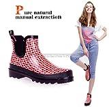 レインシューズ レインブーツ ショートブーツ 雨靴 レディース 女性用 雨具 靴 軽量 hy403-yx07