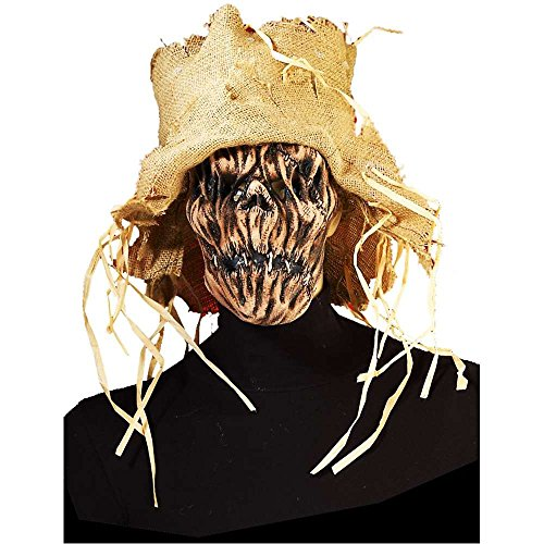 Scarecrow Mask with Hat - One Size