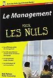 echange, troc Bob NELSON - Le Management Poche Pour les Nuls, nlle édition