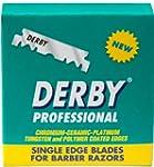 100 x DERBY PROFESSIONAL SINGLE EDGE...