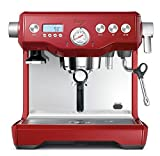 Image of Sage by Heston Blumenthal the Dual Boiler Coffee Machine, 2200 Watt - Red