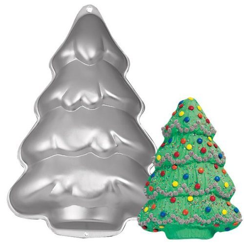 Wilton Cake Pan: Step-By-Step Holiday Tree/Christmas Tree (2105-9410, 1986)
