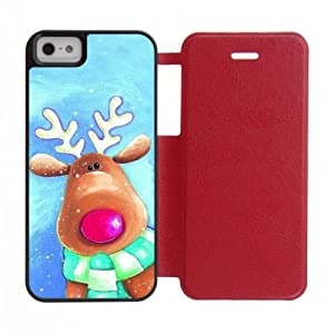 White Black and Red Case Cover for iPhone5 iPhone5S: Cell ...