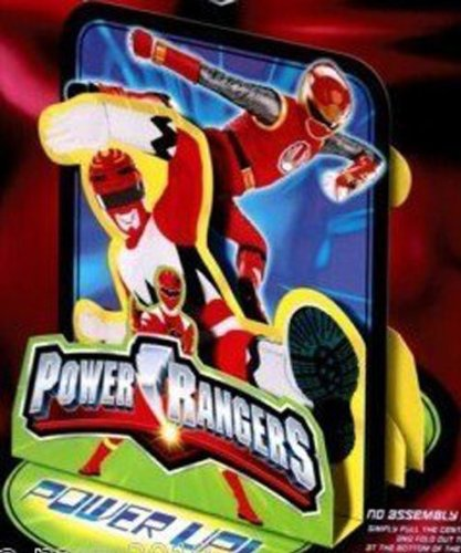 "POWER RANGERS Stand-Up 3D Party Decoration TABLE CENTERPIECE (12 5/8"" Tall)"