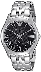 Emporio Armani Analog Black Dial Mens Watch - AR1706