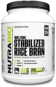 Amazon.com: NutraBio Stabilized Rice Bran (600 Grams