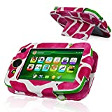 Leap Pad Platinum Case, A Cdream Pu Leather Cover Case For Leap Frog Leap Pad Platinum Kids Learning Tablet (Not...