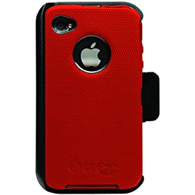 Otterbox Case for iPhone 4G (Red/Black): Cell Phones & Accessories