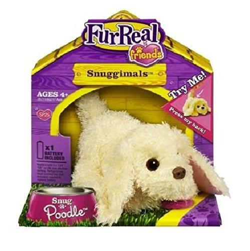 Fur Real Friends Snuggimals Cream Poodle