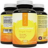 Complete L-Arginine Complex HCL Essential Amino Acid Workout Vitamin for Weight Loss Increased Energy Boost Metabolism Increase Muscle Mass Immune System Support for Men Women Teens