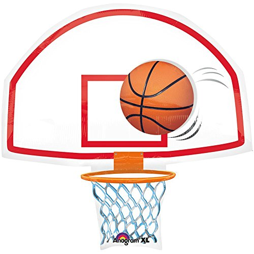 Anagram International Basketball Backboard Shape Pack, 26""
