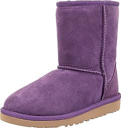 UGG Australia Classic Bilberry Sheepskin Girl\'s Boots Size 2 - 5251