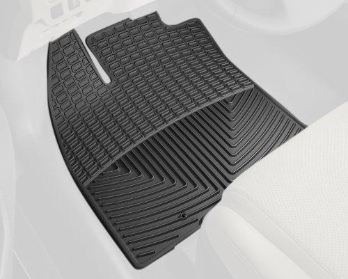 Get WeatherTech Trim To Fit Front Rubber Mats For Lexus HS, Black