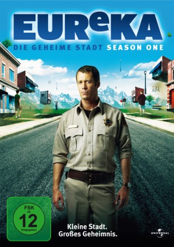EUReKA: Die geheime Stadt - Season 1 [3 DVDs]