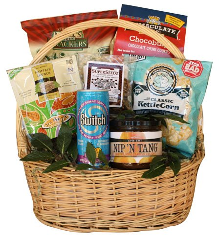 Happy Pappy Healthy Father's Day Gift Basket