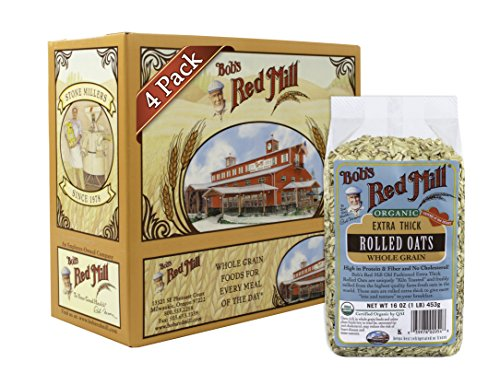 bobs-red-mill-organic-oats-rolled-thick-16-ounce-pack-of-4