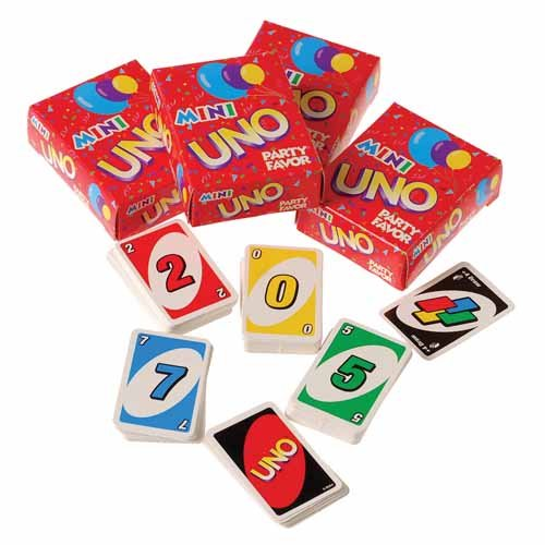 Best Price 4 Mini Uno Card Games Happy Easter