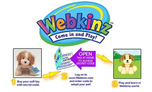 Webkinz Velvety Elephant 天鹅绒小象图片