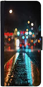 Snoogg Wet Road Parallax Designer Protective Phone Flip Case Cover For Lenovo Vibe X2
