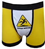 Slippery When Wet Boxer Briefs for men