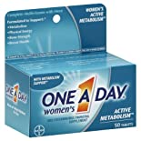 One-A-Day Women's Active Metabolism Complete Multivitamin, Tablets, 50 ct.