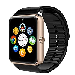 ShopAIS NFC BLUETOOTH SMART WATCH GT08 FOR ANDROID, IOS, & SMART PHONES MULTI COLOUR