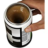 Alcoa Prime 1pcs Hot Coffee Mug Self Stirring Electric Stainless Steel Automatic Mixing Cup Shipping
