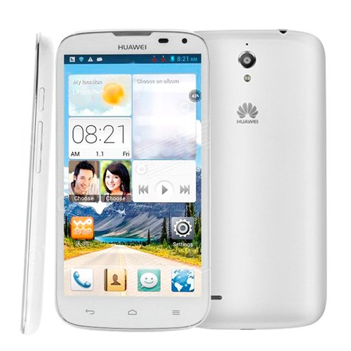 Huawei G610+ Smart Cell Phone 5.0 Inch 3G Android 4.2 Mtk6589M 1.2Ghz Quad Core Ram: 1Gb+Rom 4Gb 2150Mah Battery Wcdma & Gsm, Dual Sim