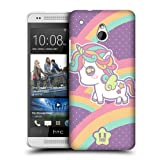 Head Case Designs Rainbow Fancy Unicorn Snap-on Back Case Cover For Htc One Mini