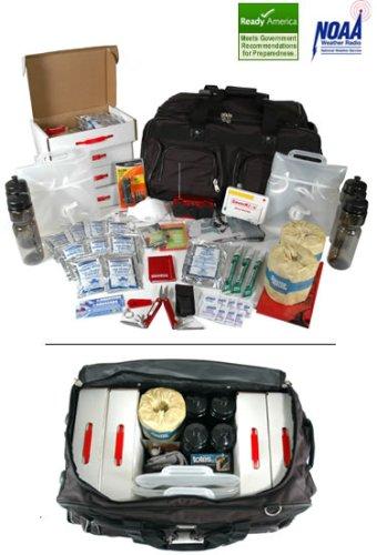 The Saver4X72 Four-Person 72-Hour Kit For Hurricane / Earthquake / Emergency Preparedness