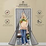 Jerrybox Fliegengitter Tür Insektenschutz Vorhänge Magnetvorhang Magnetischer Fliegenvorhang Moskitonetz für Türen/Balkontür