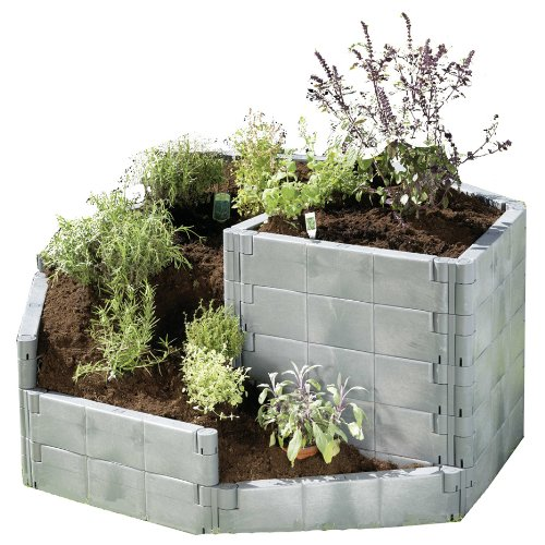 HERB SPIRAL Raised Garden Bed