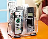 Unique Designed Desktop Remote Control Holder - Holds up to 6 Remotes
