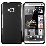 """mumbi TPU Schutzh�lle HTC One H�lle schwarz (NICHT HTC One M8)von """"mumbi"""""""