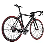 ICAN カーボン フル ロードバイク 空気力学的なデザイン 軽量 50/52/54/56/58cm