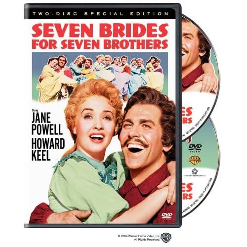 Семь невест для семи братьев / Seven Brides For Seven Brothers (Стэнли Донен / Stanley Donen) [1954 г., мюзикл, DVD9]