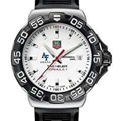 US Air Force Academy TAG Heuer Watch - Men's Formula 1 Watch with Rubber Strap