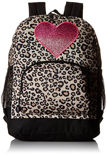 The Children's Place Big Girls Leopard Print Backpack, Leopard, One Size
