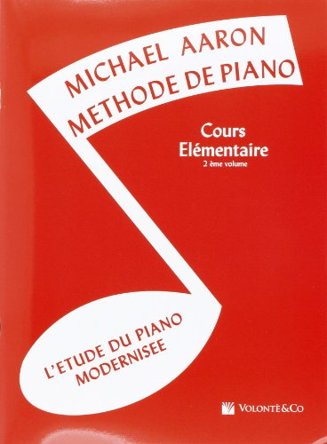 Aaron Methode de Piano Vol.2 Cours Elementaire
