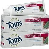 Tom's of Maine Sensitive Toothpaste, Wintermint - 4 oz - 2 pk