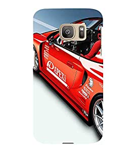 Amazing Car 3D Hard Polycarbonate Designer Back Case Cover for Samsung Galaxy S7 :: Samsung Galaxy S7 G930F :: Samsung Galaxy S7 Duos G930FD