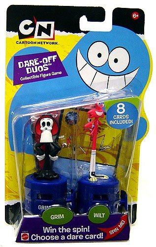 Buy Low Price Mattel Cartoon Network Dare off Duos Grim & Wilt Collectible Figures (B000P6GH06)