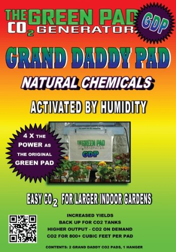 51XOxUQRKHL. SL500  Green Pad Co2 Generator Grand Daddy Pad (GDP), 2 Pack