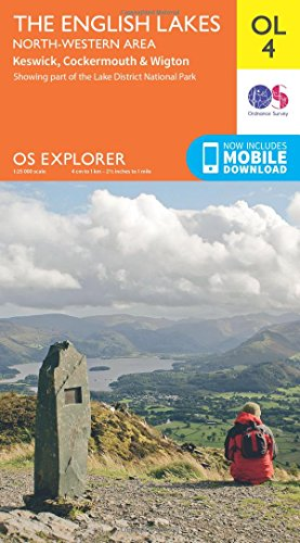 English Lakes North West Area (OS Explorer Map)