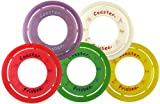 Frisbee brand Coaster Ring - Set of 5