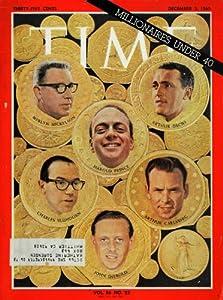 1965 Cover Time Newsmagazine Millionaires Harold Prince - Original Cover