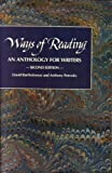 Ways of reading: An anthology for writers (0312030770) by Bartholomae, David